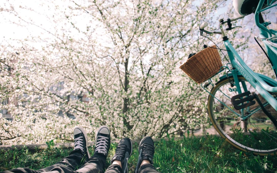 Befreit in den Frühling